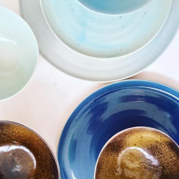 assorted bowls sabrina binda ceramics tinos